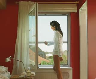Geen muggen meer met kwaliteits horren voor deur raam for Hor voor schuifpui praxis